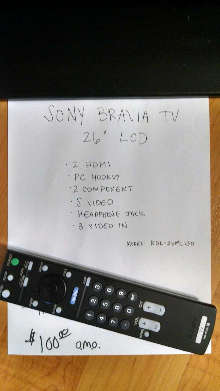 how to connect pc with sony bravia led tv