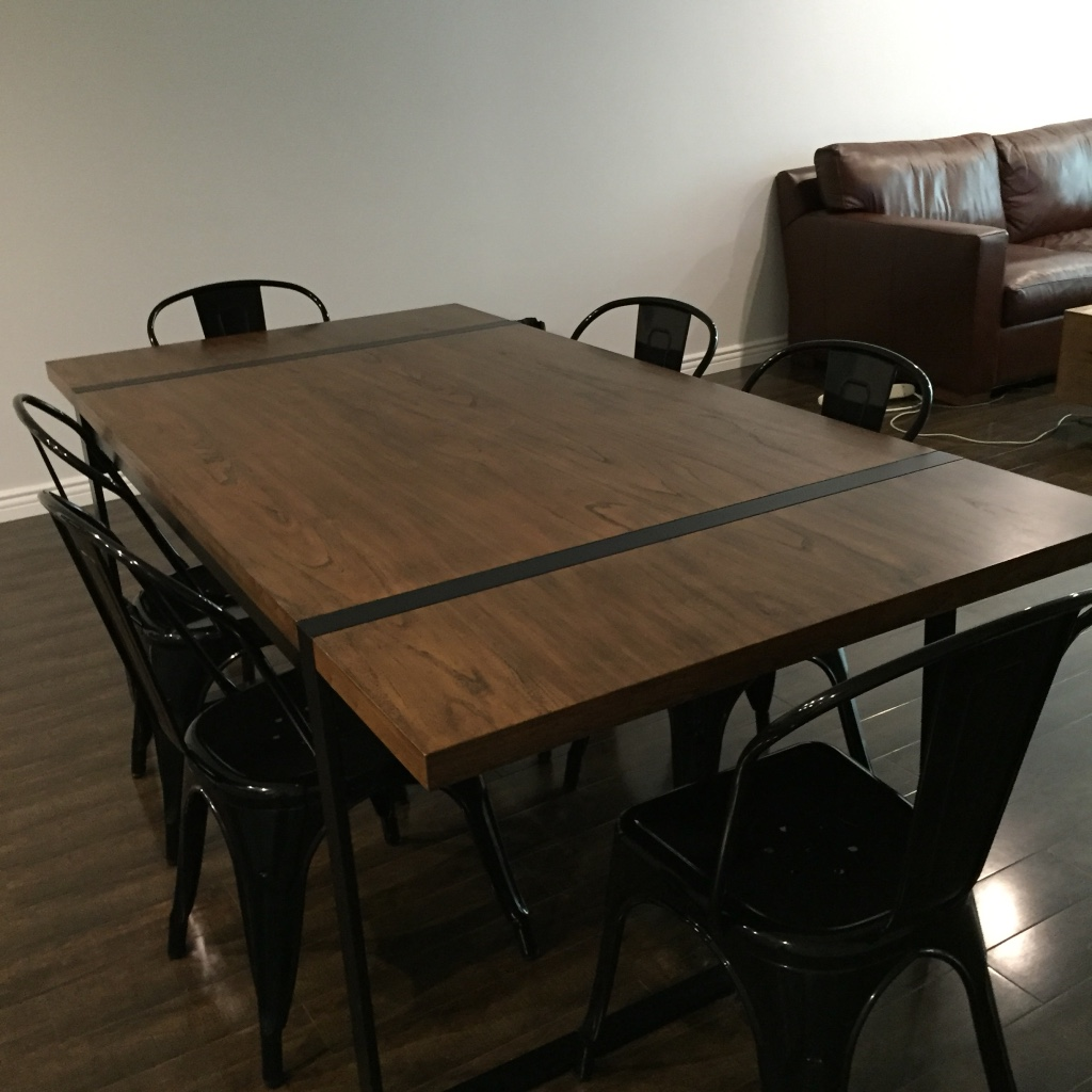 new jersey castle point home and garden industrial dining table chairs