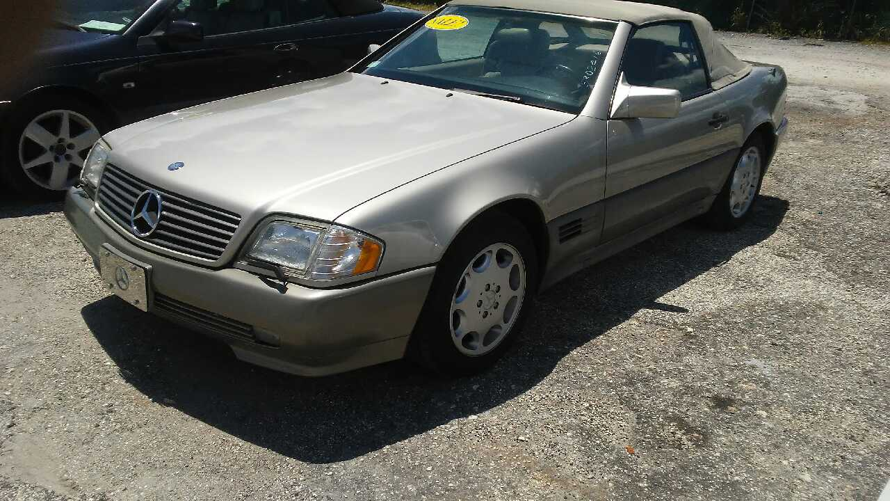 Letgo 1995 mercedes benz sl500 in north palm beach fl for Mercedes benz north palm beach fl