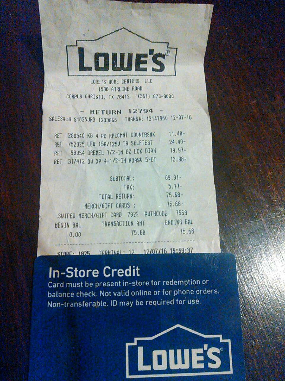 lowe´s credit card