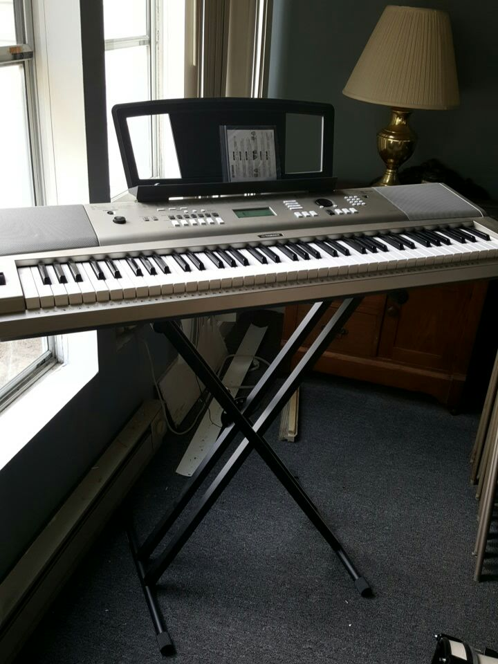 Letgo yamaha ypg 235 keyboard in sharpsburg nc for Yamaha ypg 235 used