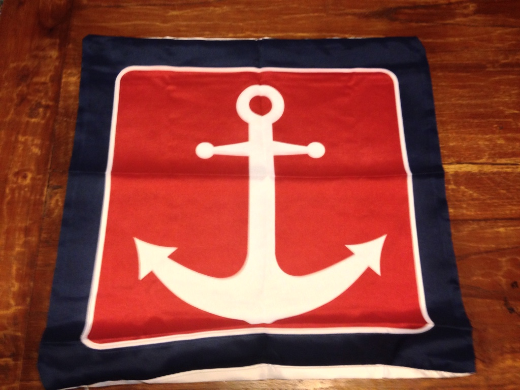 Nautical Throw Pillow Cases : letgo - Nautical sailboat theme throw pill... in Cumming, GA