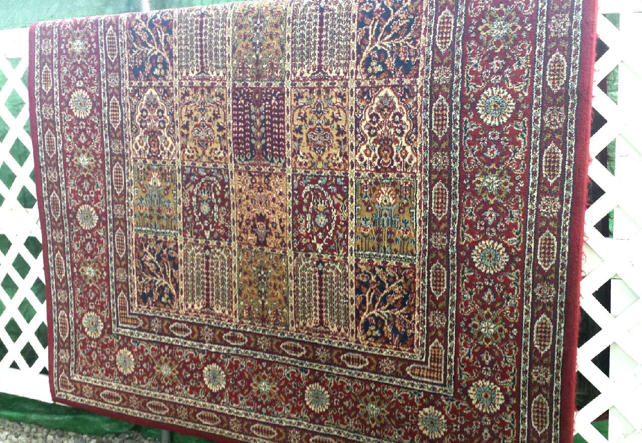 Letgo Valby Ruta Rug By Ikea 5x7 In New Egypt Nj