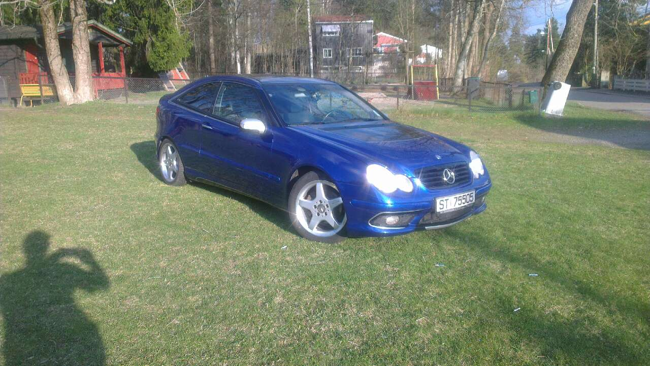 Mercedes C230 Sports coupe