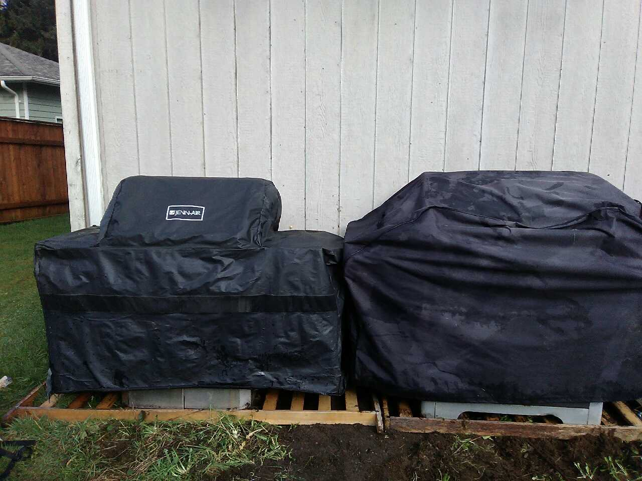 letgo full outdoor bbq set up in arlington wa