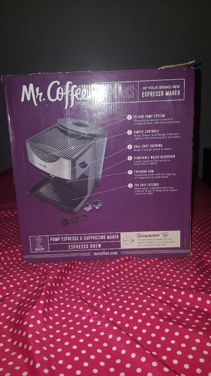 mr coffee cappuccino maker instructions