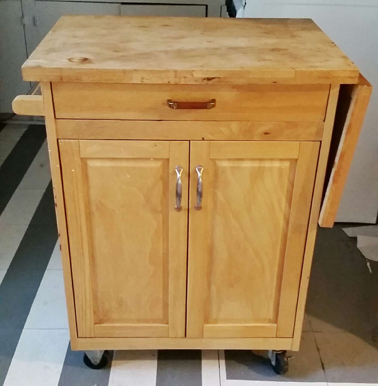 Letgo Cutting Board Top Kitchen Island O In Houston Tx