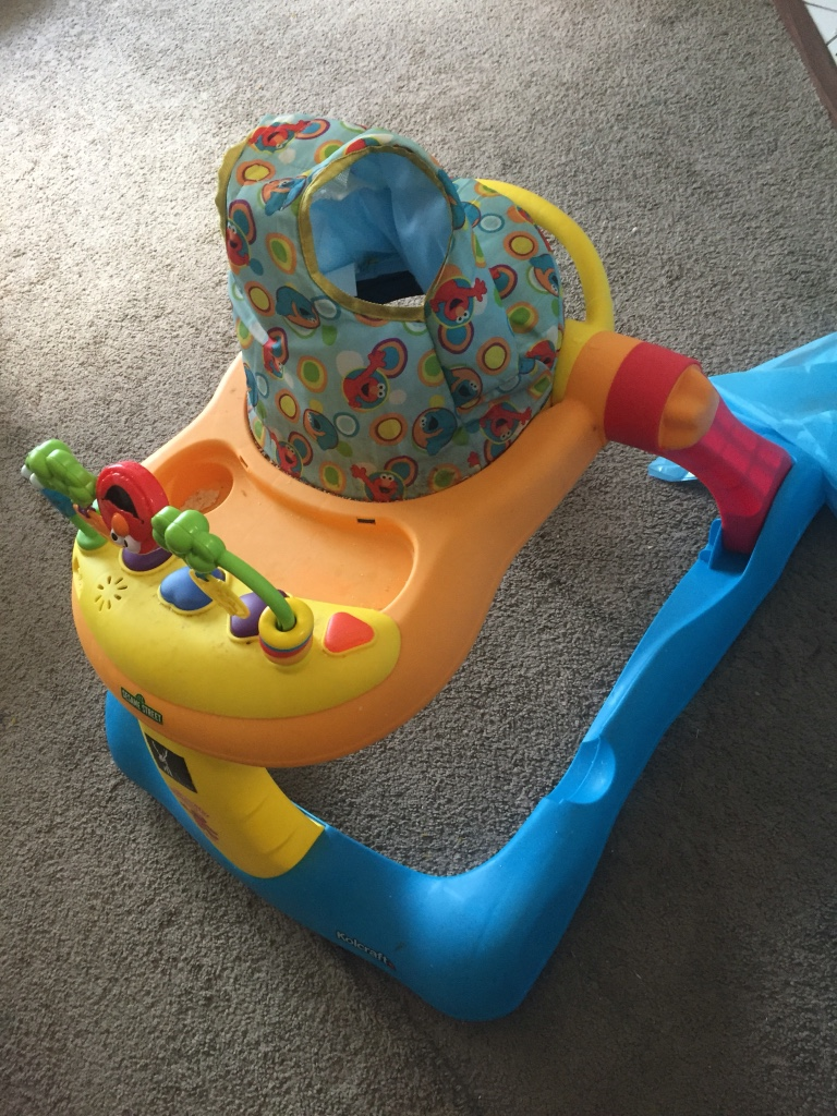 Used crib for sale houston - Baby S Orange Blue And Red Walker