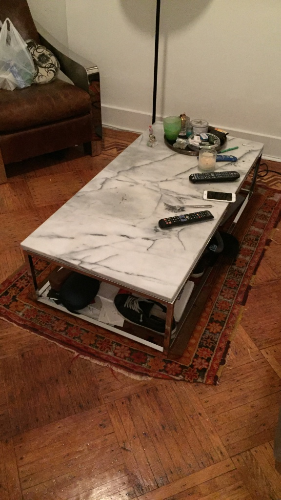 letgo marble coffee table in castle point nj