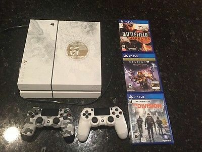 sony ps4 destiny version game console