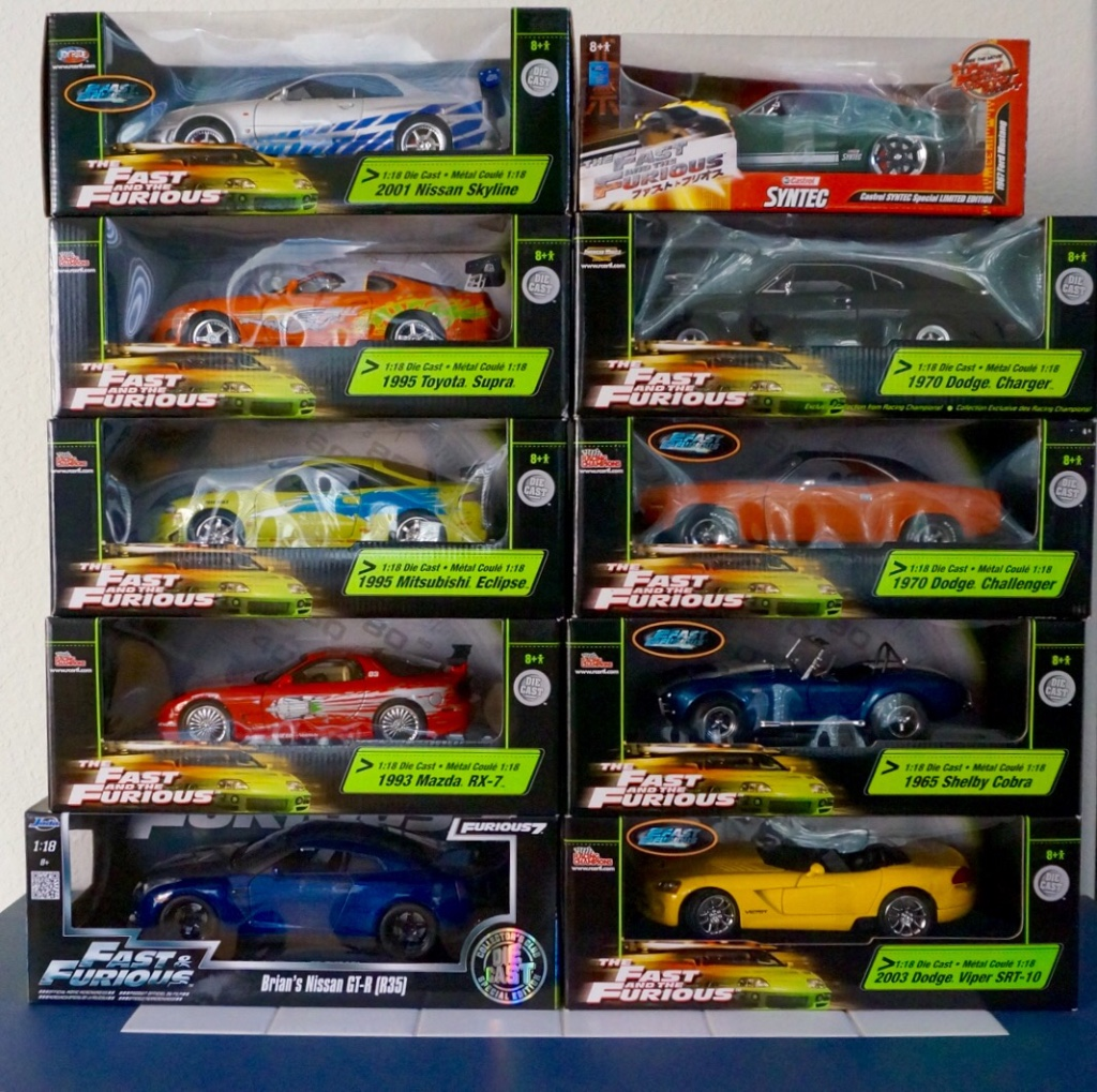 Letgo Fast And Furious Toys 1 18 Scale In Manteca Ca