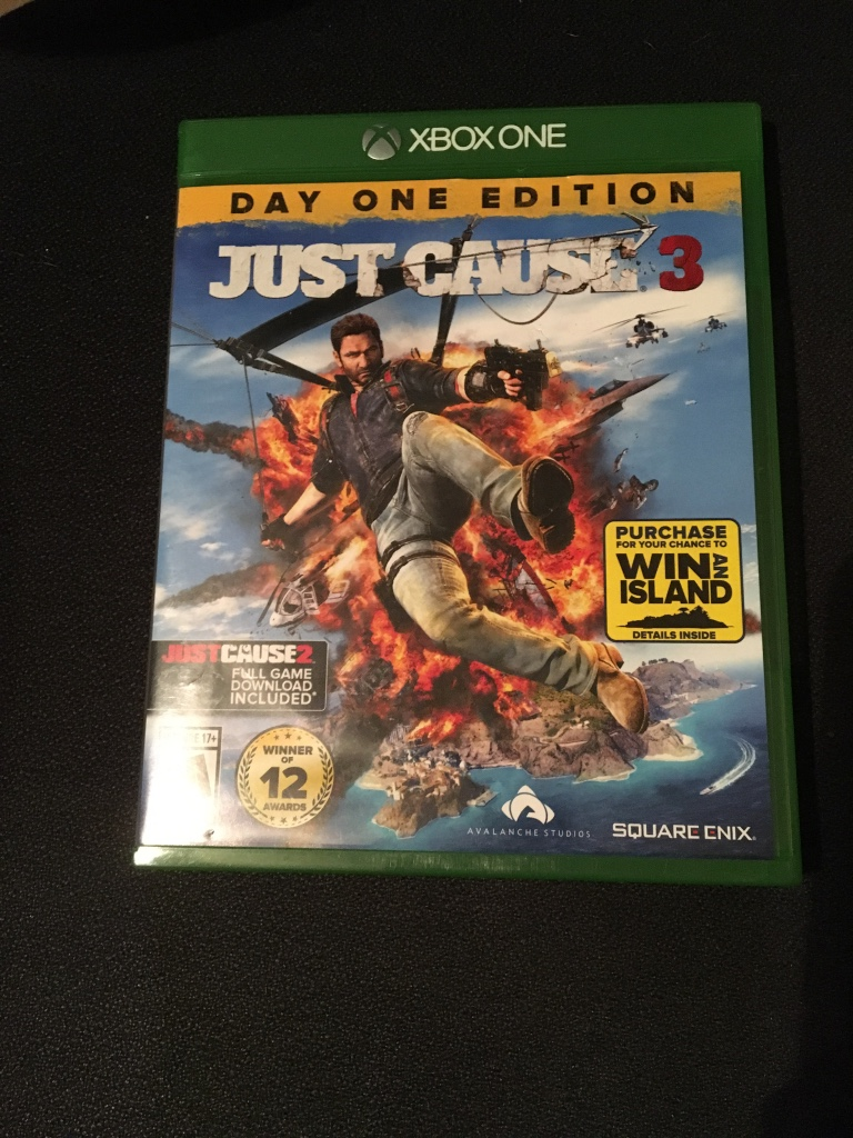 letgo just cause 3 xbox one in justin tx. Black Bedroom Furniture Sets. Home Design Ideas