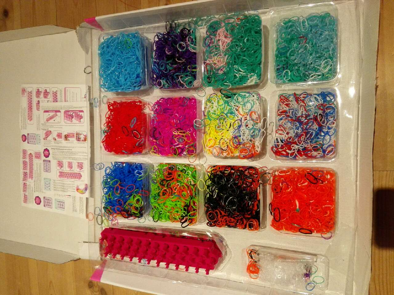 Loombands (rotete)