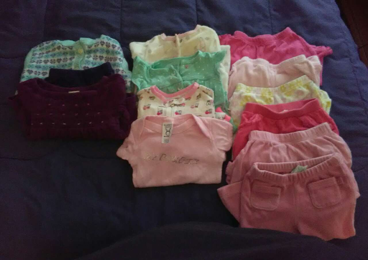 letgo Baby girl clothes size 6 9 months in Southfield MI