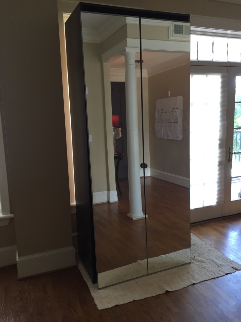 Letgo ikea wardrobe with mirrored doors in atlanta ga - Ikea armoire with mirror ...