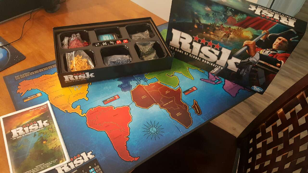 Letgo 2010 Risk Board Game Only Used In Riverside Oh