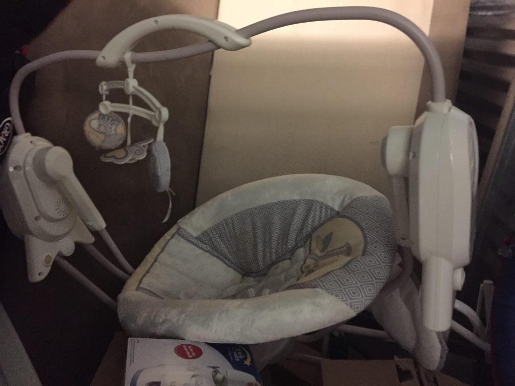 Used crib for sale in nj - Baby Swing And Rocker