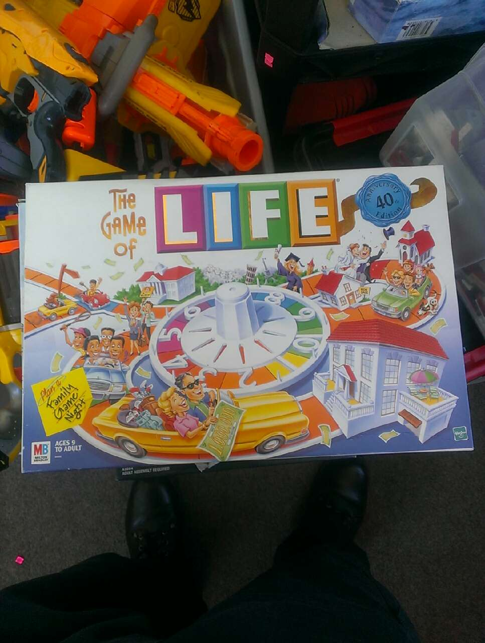the game of life board