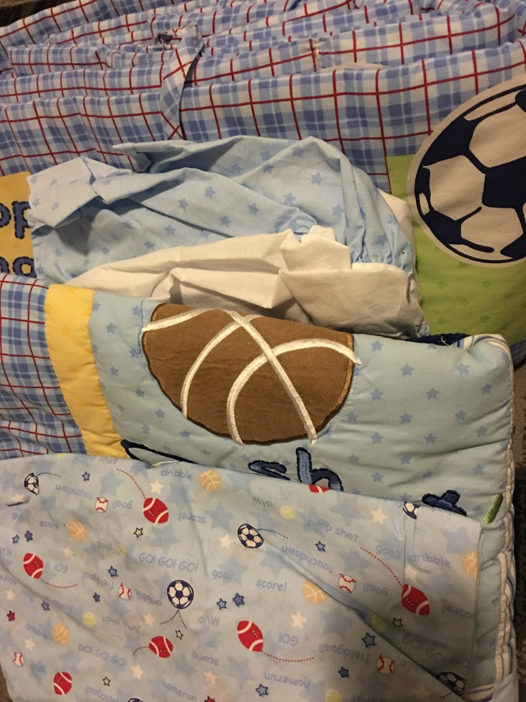 Used crib for sale in nj - Boys Crib Bed Sheets Set With Bumpers