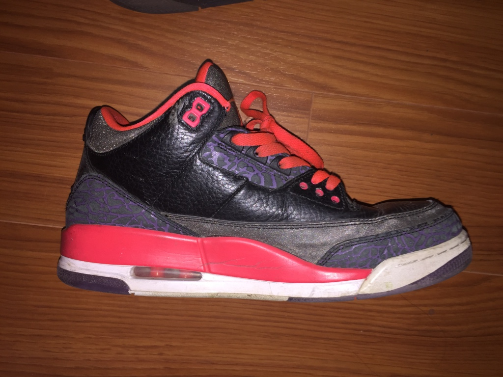 Used crib for sale houston - Air Jordan 3 Red Black Grey