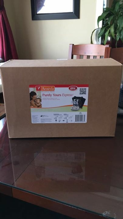 ameda purely yours double electric breast pump instructions