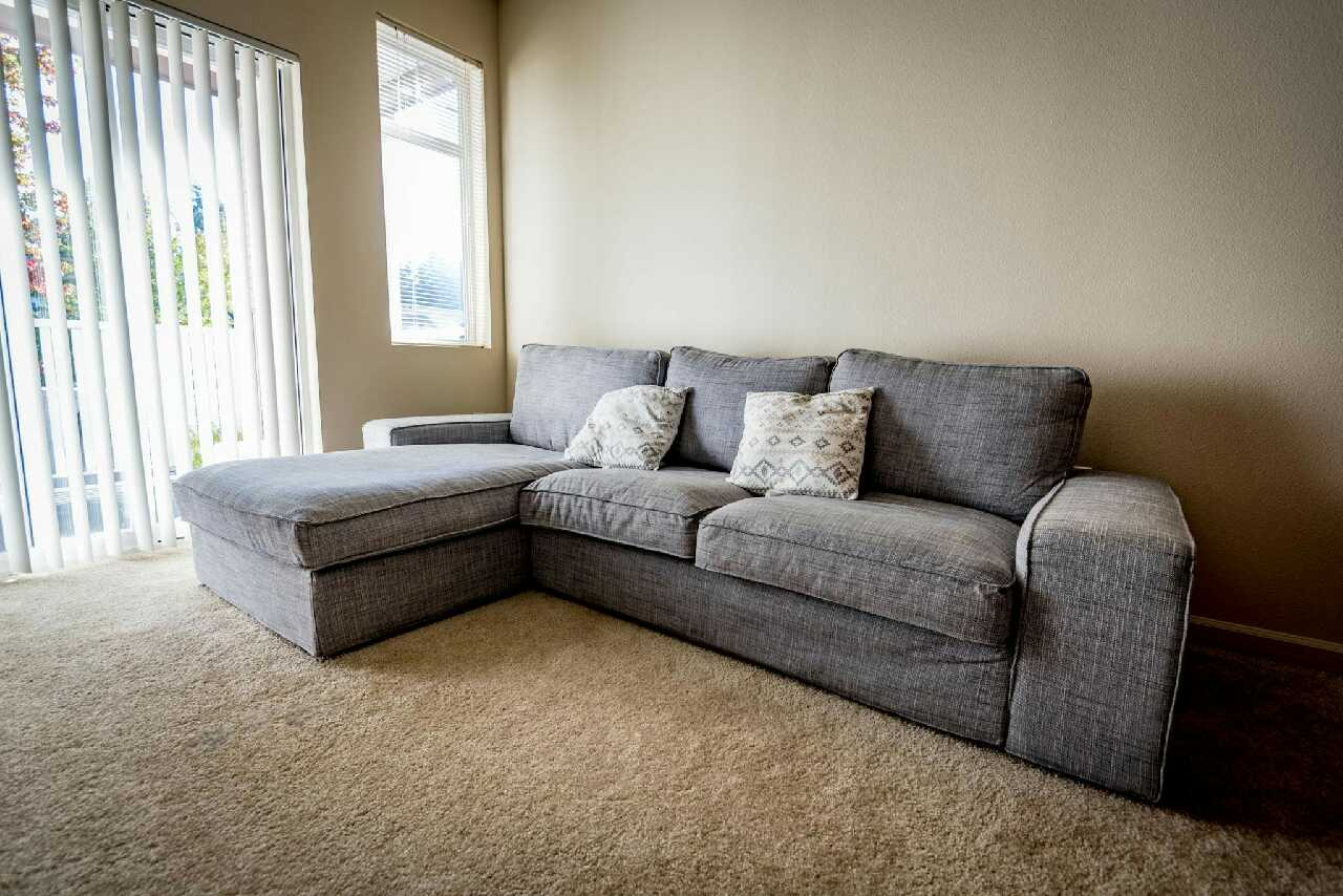 letgo ikea kivik sofa with chaise lounge in mill creek wa. Black Bedroom Furniture Sets. Home Design Ideas