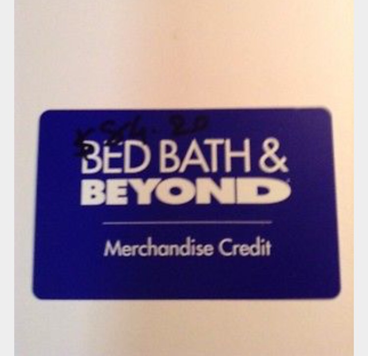 Bed Bath And Beyond Merchandise Credit Card