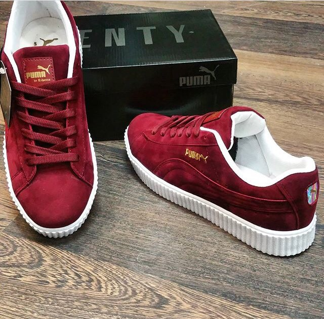Puma Creepers Red