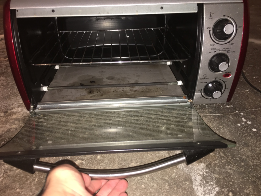 Description Emerson Toaster OvenUsed for two years, then in storage ...