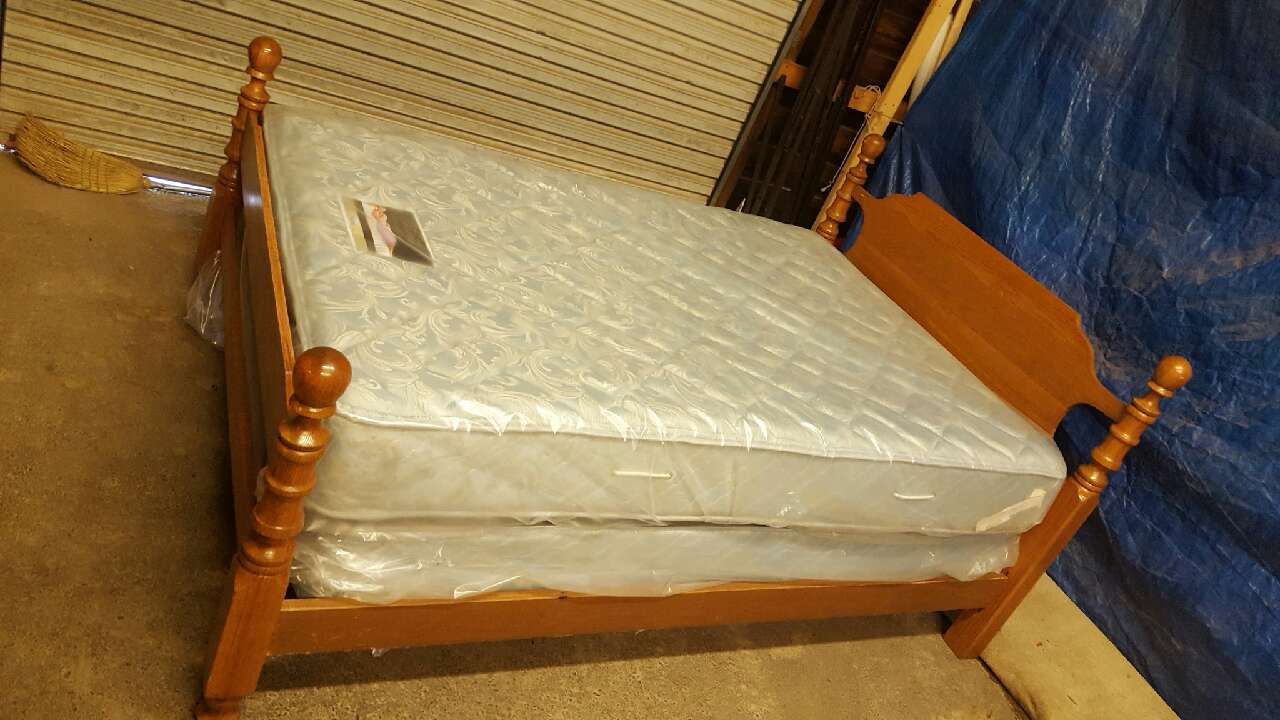 letgo Full Size Bed plete with mattr in Gastonia NC