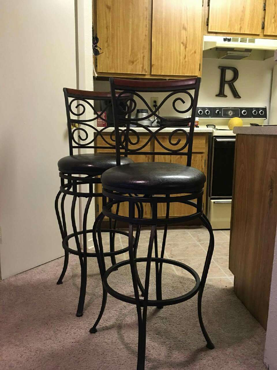Letgo 2 Threshold Wilson 29 Quot Barstools In Heights Tx