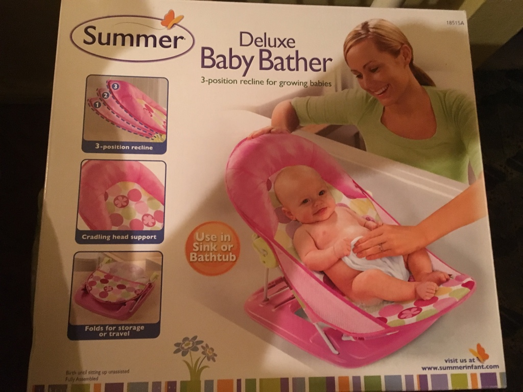 how to use baby bather