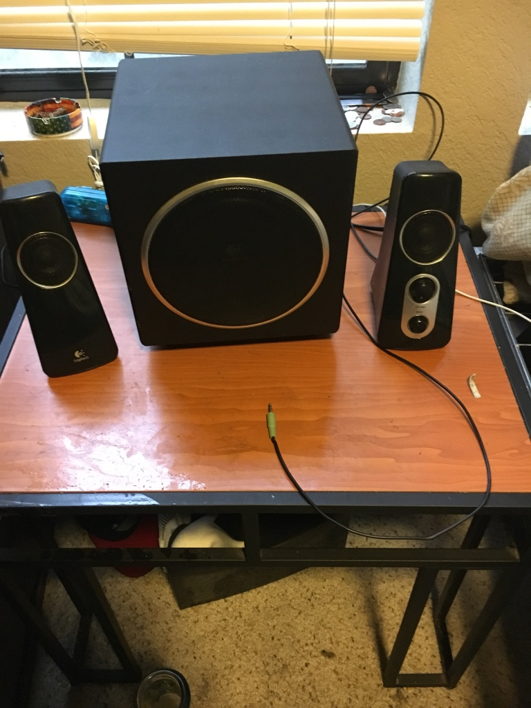 Crib for sale san diego - Logitech Speakers