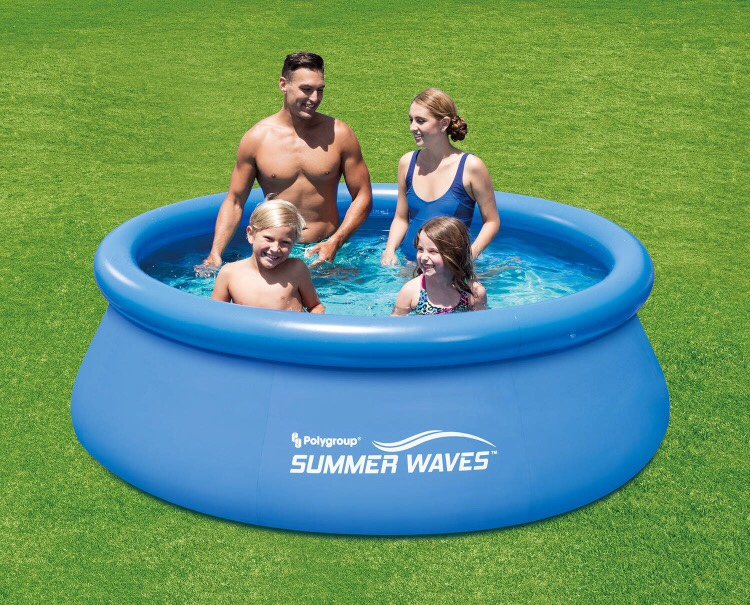 Letgo summer waves inflatable pool in college park nv - Summer waves pool ...