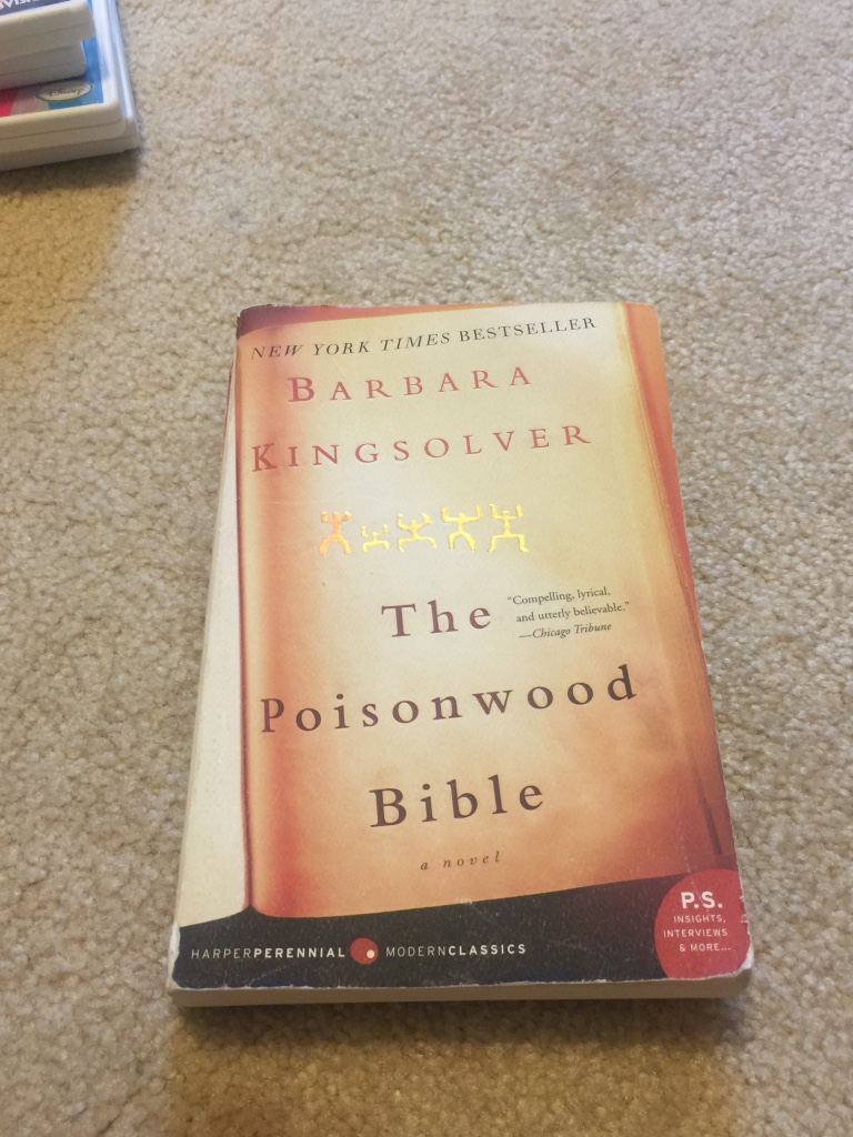 poisonwood bible The poisonwood bible, by barbara kingsolver (harper flamingo, 546 pp $26,  hardcover) reviewed by tim stafford missionaries have.