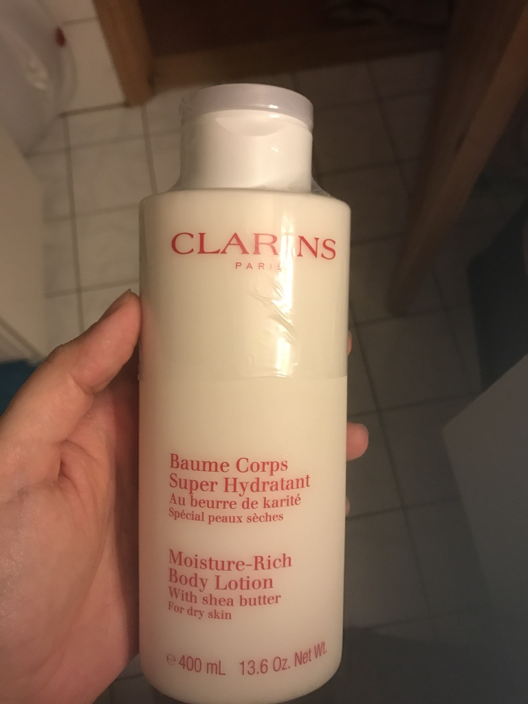 Clarins paris Baume korps super hydratant 400 ml