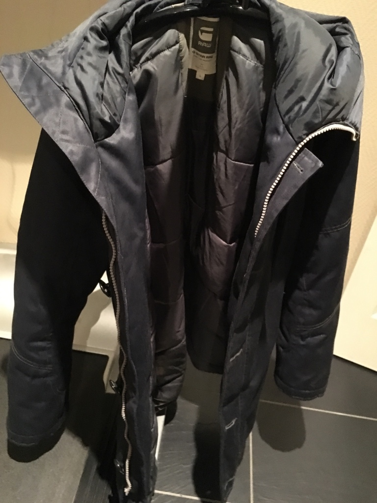 G-Star Raw Mountain Down Parka Navy L - Norge