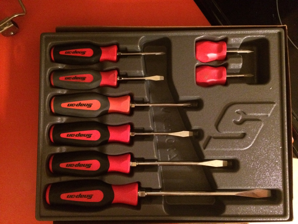 letgo snap on screwdriver set in danville pa. Black Bedroom Furniture Sets. Home Design Ideas