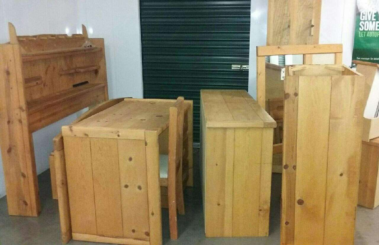 ... New Jersey Summit Home and Garden All Wood F/q 8 Piece Bedroom Set