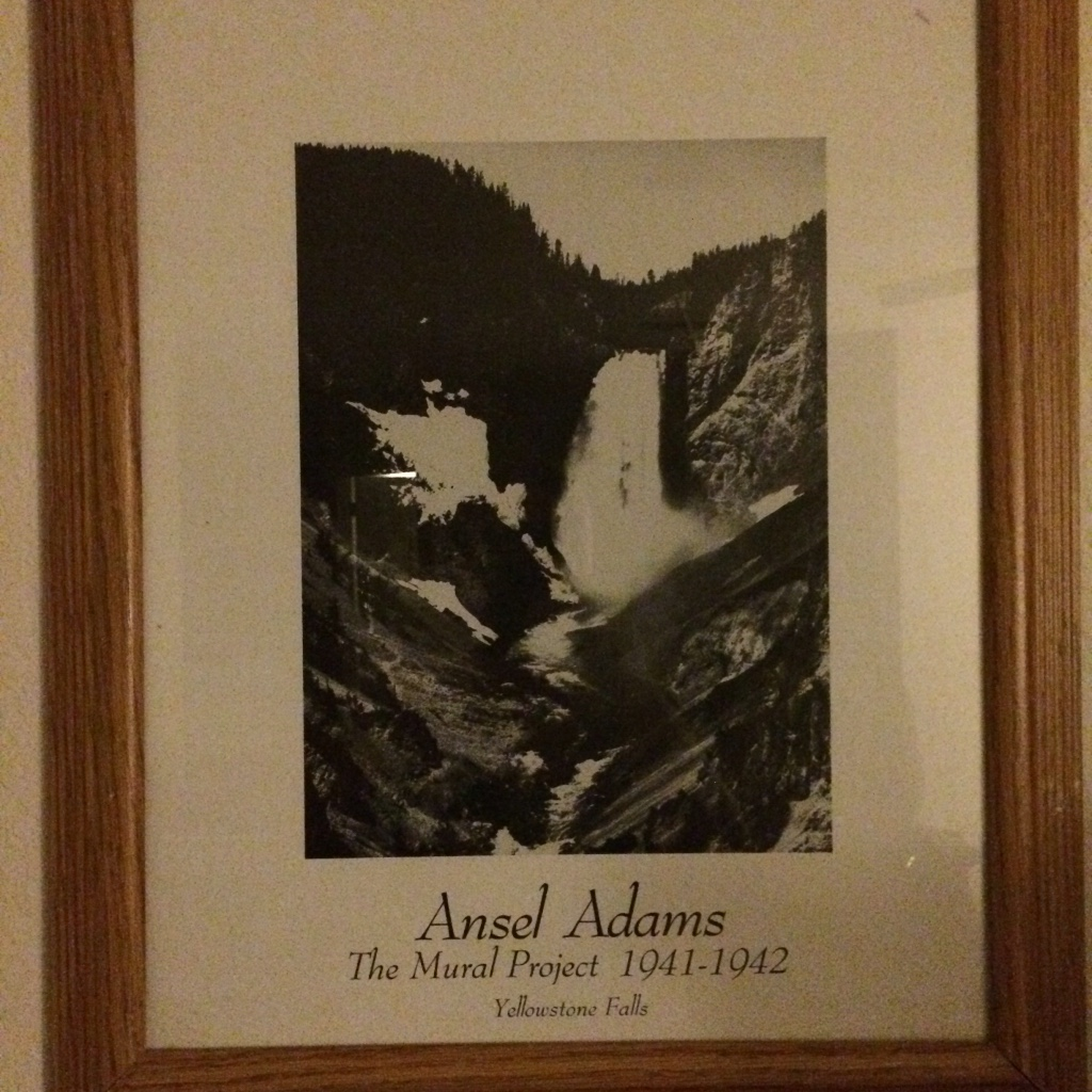 Letgo ansel adams painting in bunnell fl for Ansel adams mural project 1941 to 1942