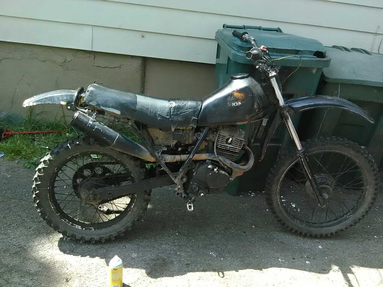 letgo 1983 honda 200 xl 4 stroke in rochester ny. Black Bedroom Furniture Sets. Home Design Ideas